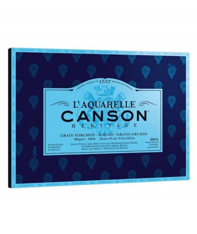 Papel acuarela Canson Heritage