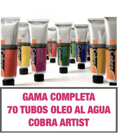 Oleo al agua Cobra Artist de talens