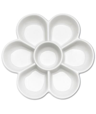 Paleta porcelana flor