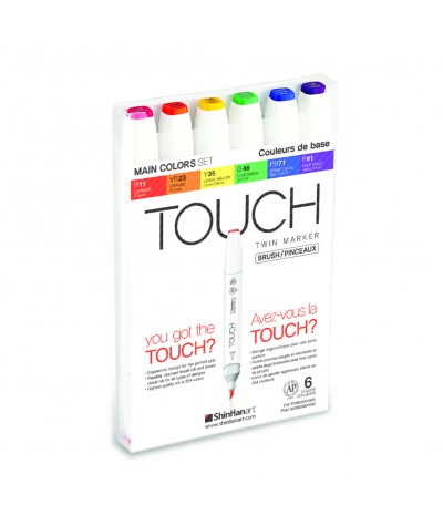 Set rotuladores Touch twin...