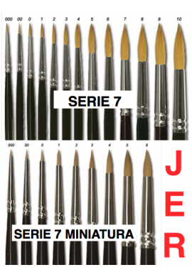 Serie 7 Miniaturas
