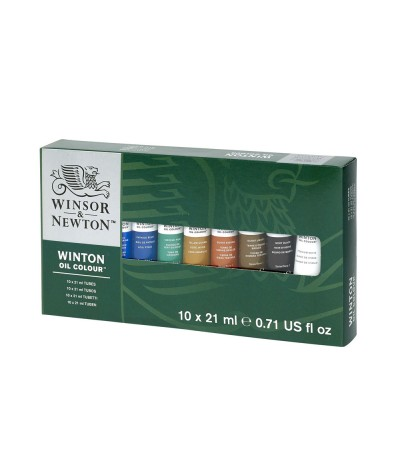 Set óleos Winton 21 ml