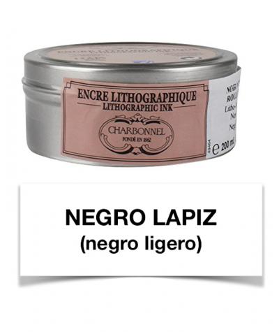 Tinta litográfica negro lápiz