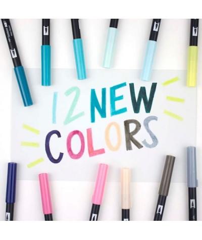 Colores nuevos Tombow rotulador