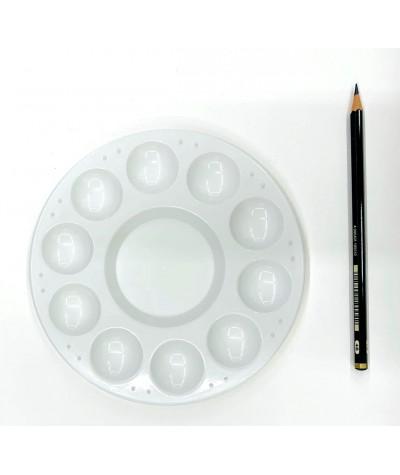 Paleta plástico circular
