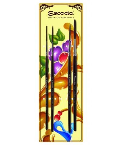 Set fileteado Escoda 6540