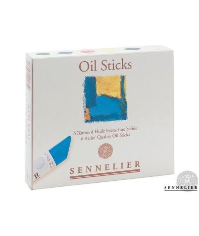 Caja barras óleo Sennelier...