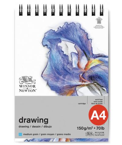 Bloc dibujo medio Winsor A4