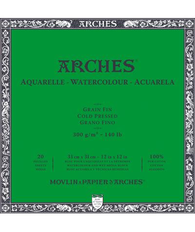 Bloc Arches 31 x 31 grano fino