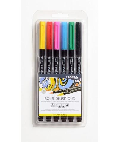 Aqua brush marker básicos