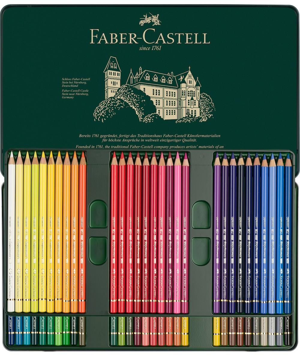Caja lápices Faber Castell Polychromos 60 colores