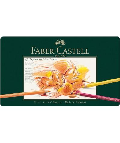 Caja lápices Faber 60 colores