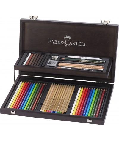 Caja madera Faber Castell...