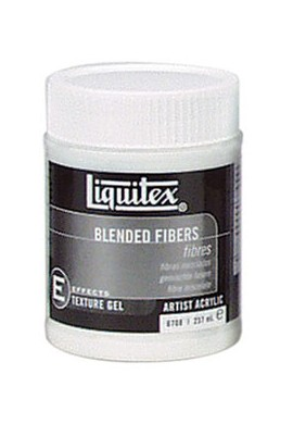 Gel fibras mezcladas 237 ml LIQUITEX