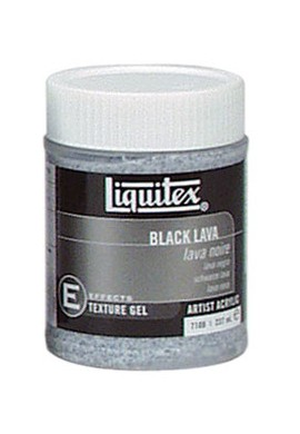 Gel lava negra 237 ml LIQUITEX