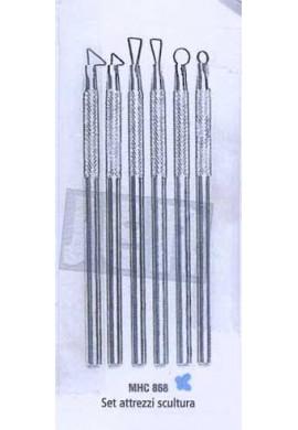 Pack de 6  Minivaciadores metálicos HOBBY