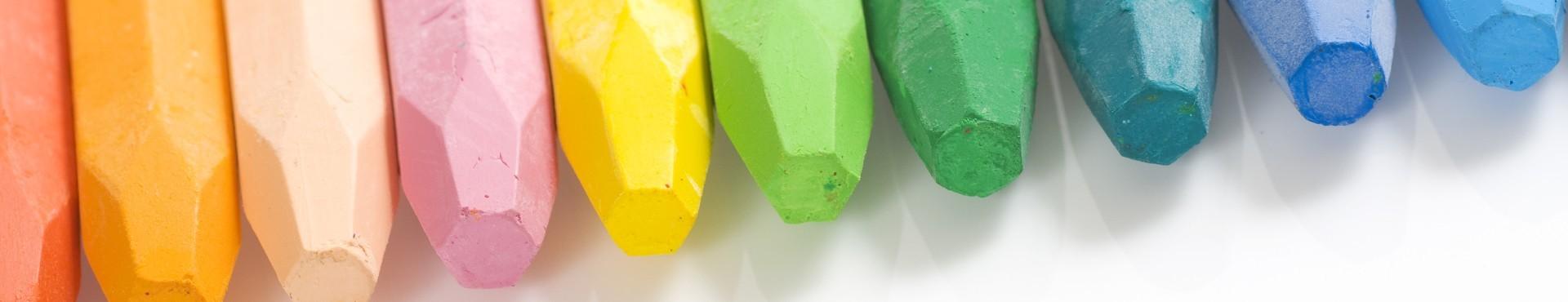 Cajas Cretas Pastel Duro