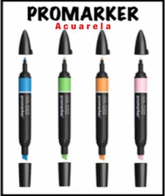 Cajas Promarker watercolour